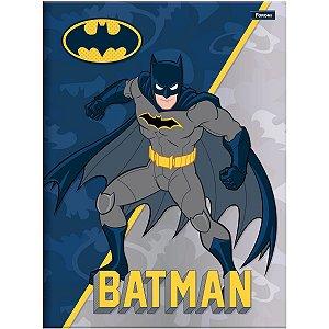Caderno Brochura 1/4 Capa Dura Batman 96 Folhas Foroni