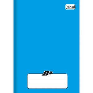 Caderno Brochura 1/4 Capa Dura D+ 48 Folhas Azul Tilibra