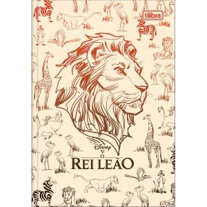 Caderno Brochura 1/4 Capa Dura O Rei Leao Movie 80Fls. Tilibra