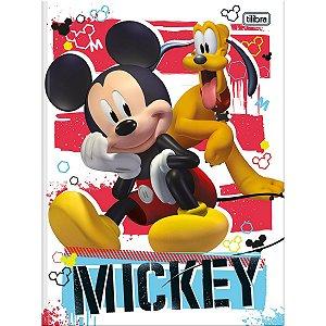 Caderno Brochurao Capa Dura Mickey 80Fls. Tilibra