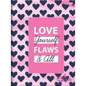 Caderno Brochurao Capa Dura Pink Power 96Fls. Foroni