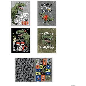 Caderno Brochurao Capa Dura Raptor 80Fls. Tilibra