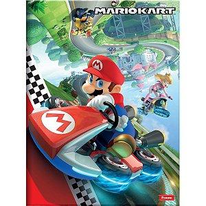 Caderno Brochurao Capa Dura Super Mario 96 Folhas Foroni