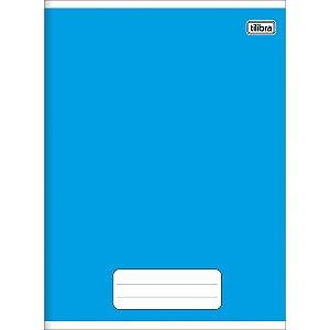 Caderno Brochurao Super Pepper 60 Folhas Azul/vermelho Tilibra