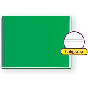 Caderno Caligrafia Capa Dura Liso 48F 1/4 Broch.horizontal Tamoio