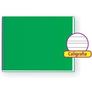 Caderno Caligrafia Capa Dura Liso 96F 1/4 Broch.horizontal Tamoio