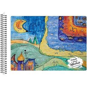 Caderno Desenho Milimetrado Duplex Espiral 48F São Domingos