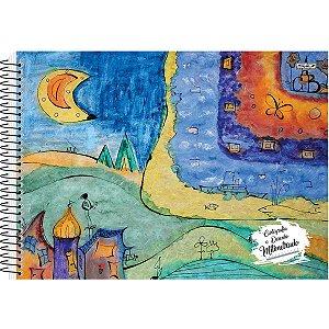 Caderno Desenho Milimetrado Espiral Univ. 96F São Domingos