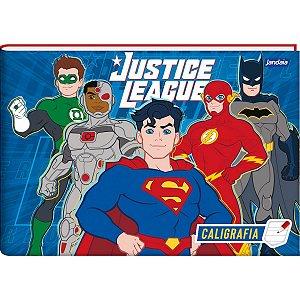 Caderno Desenho Univ Capa Dura Liga Da Justiça 80Fls. Jandaia