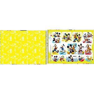 Caderno Desenho Univ Capa Dura Mickey 80Fls. Tilibra