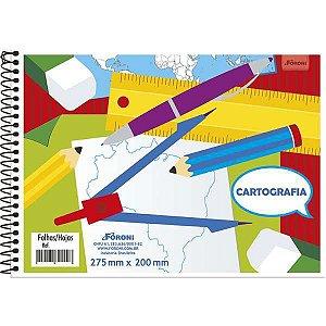 Caderno Desenho Universitario 48Fls. S/seda Foroni