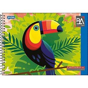 Caderno Desenho Universitario Basic Art 48Fls. Esp. Horiz. Jandaia
