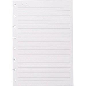 Caderno Inteligente Refil A5 Pautado 90G. 50Fls. Caderno Inteligente