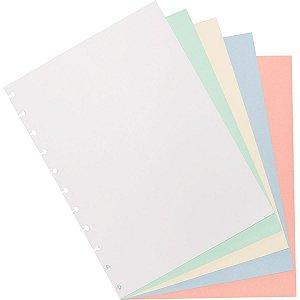 Caderno Inteligente Refil Grande Colorido 80G.50Fls. Caderno Inteligente