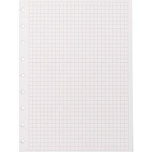 Caderno Inteligente Refil Medio Quadriculado 90G. 50Fls. Caderno Inteligente