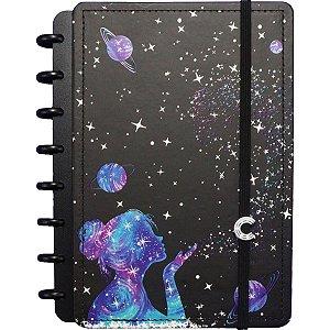 Caderno Inteligente A5 Poeira Das Estrela 80Fls. Caderno Inteligente