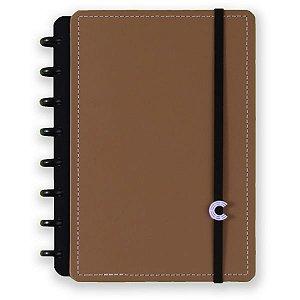 Caderno Inteligente Grande Caramel 80Fls. Caderno Inteligente