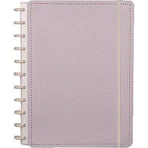 Caderno Inteligente Grande Lilas Pastel 80Fls. Caderno Inteligente