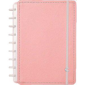 Caderno Inteligente Medio Rose Pastel 80Fls. Caderno Inteligente