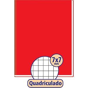 Caderno Quadriculado 1/4 7X7Mm 96F Brochura C.d. Vm Tamoio