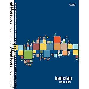 Caderno Quadriculado Univers. 10Mmx10Mm Espiral 80F São Domingos