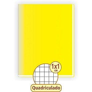 Caderno Quadriculado Univers. 1X1Cm 48F Brochurao C.d Amarel Tamoio