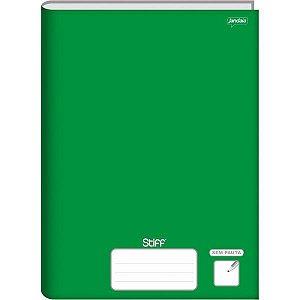Caderno Quadriculado Univers. 7X7Mm 96F Brochurao Verde Cd Jandaia