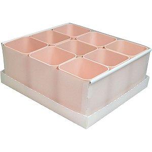 Caixa Organizadora C/09 Divisorias Rosa Dello