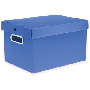 Caixa Organizadora Prontobox Azul 560X365X300 Xg Polycart