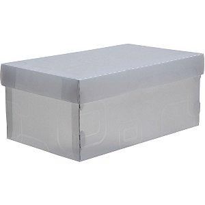 Caixa Organizadora Top Fine Sapato 28X17X12Cm.cri Dello