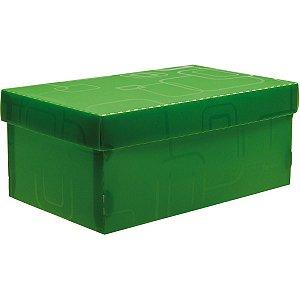 Caixa Organizadora Top Line Sapato 28X17X12Cm.vd Dello