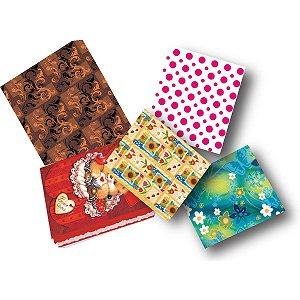 Caixa Para Presente Com Tampa Grande (35X25,5X7,5) Sortidas Cristina