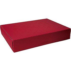 Caixa Para Presente Grande Plástica 37X25X5,7Cm Dello