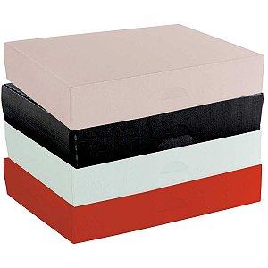 Caixa Para Presente Média Plástica 27,5X20,5X5,3Cm Dello