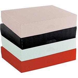 Caixa Para Presente Pequena Plástica 24X16,5X4,5Cm Dello