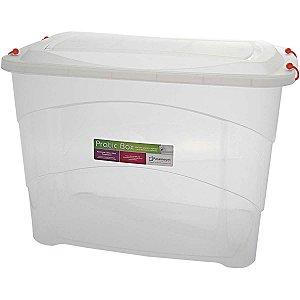 Caixa Plástica Multiuso Pratic Box 90L 66X44X45Cm. Paramount