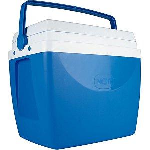 Caixa Térmica 34L. C/alca Azul Mor