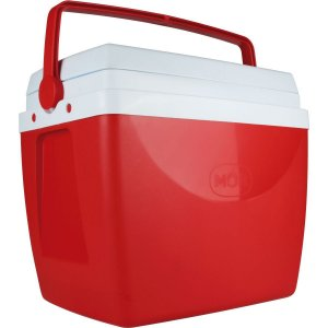 Caixa Térmica 34L. C/alca Vermelha Mor