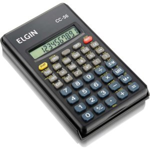 Calculadora Cientifica 56 Funcoes 10Dig. 2 Pilhas Aaa Elgin