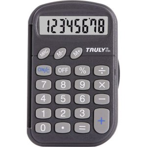 Calculadora De Bolso 8 Digitos C/cp.prot. Preta/bat Procalc