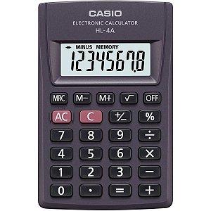 Calculadora De Bolso 8Digitos Pratica Preta Casio