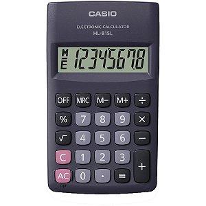 Calculadora De Bolso 8Digitos Preta Casio