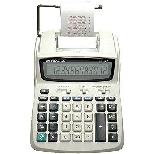 Calculadora De Impressao 12Dig. Bob.58Mm/4Pilhas Bivolt Procalc