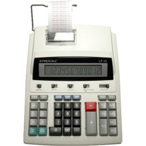 Calculadora De Impressao 12Dig. Bobina 57Mm 110V/220V Procalc