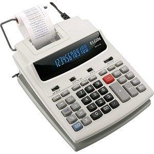 Calculadora De Impressao 12Dig.bivolt Mr 6124 Cinza Elgin