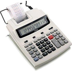 Calculadora De Impressao 12Dig.bob.58Mm Bivolt Cinza Elgin