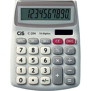 Calculadora De Mesa 10 Dig.mod.c-204 10,7X13,3Cm. Sertic