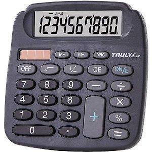 Calculadora De Mesa 10 Dig.solar/bat.grande Procalc