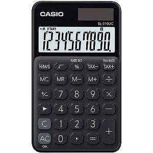 Calculadora De Mesa 10Dig.preta Solar/bat.fun.h/tx Casio