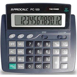 Calculadora De Mesa 12Dig.visor Incl. Mod.pc123 Procalc